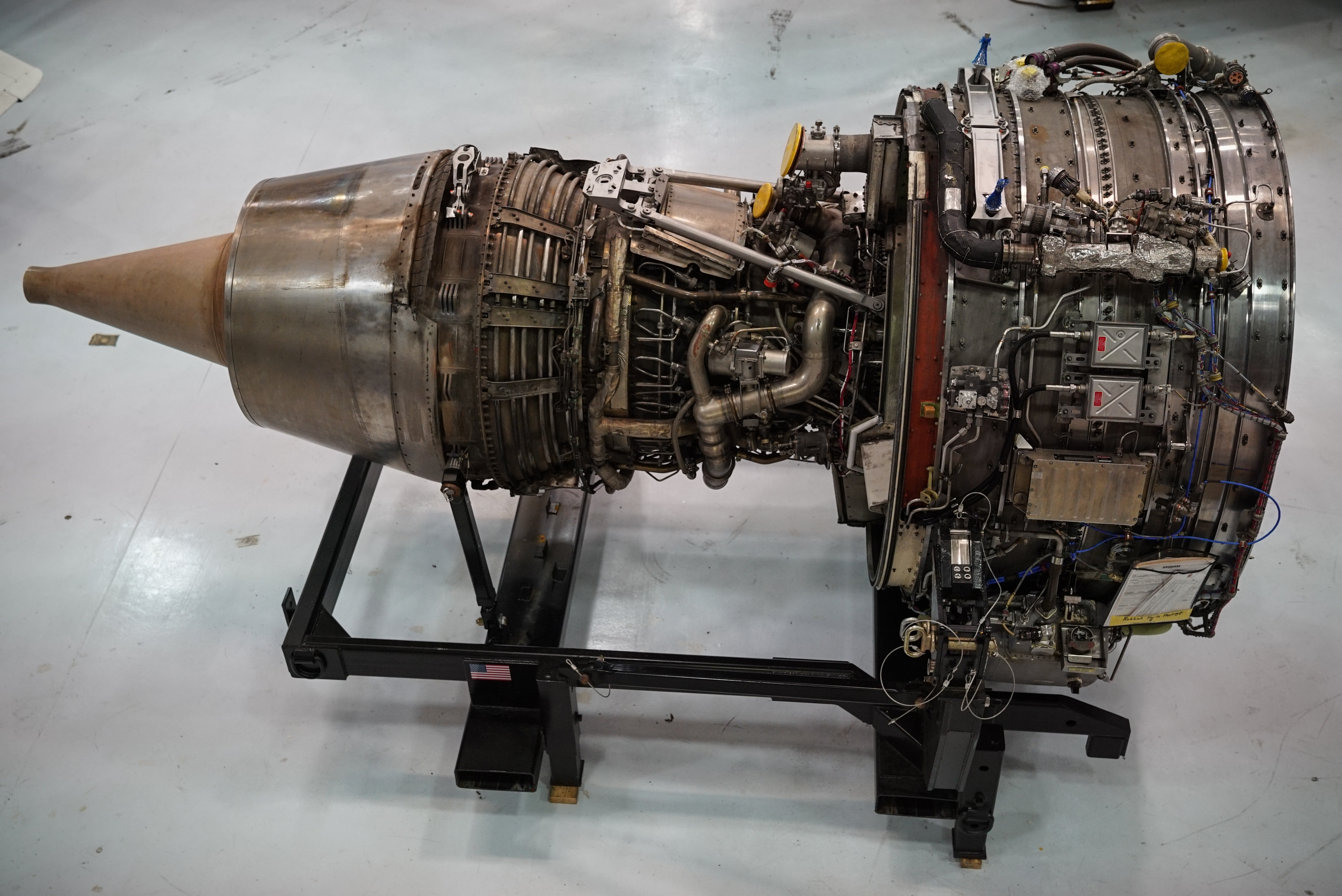 Massive Airplane Engine donated to MTSU by Southwest Airlines