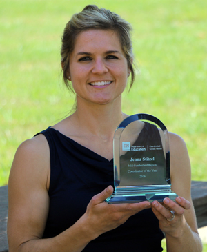 Rutherford County Schools Jenna Stitzel named School Health Coordinator of the Year