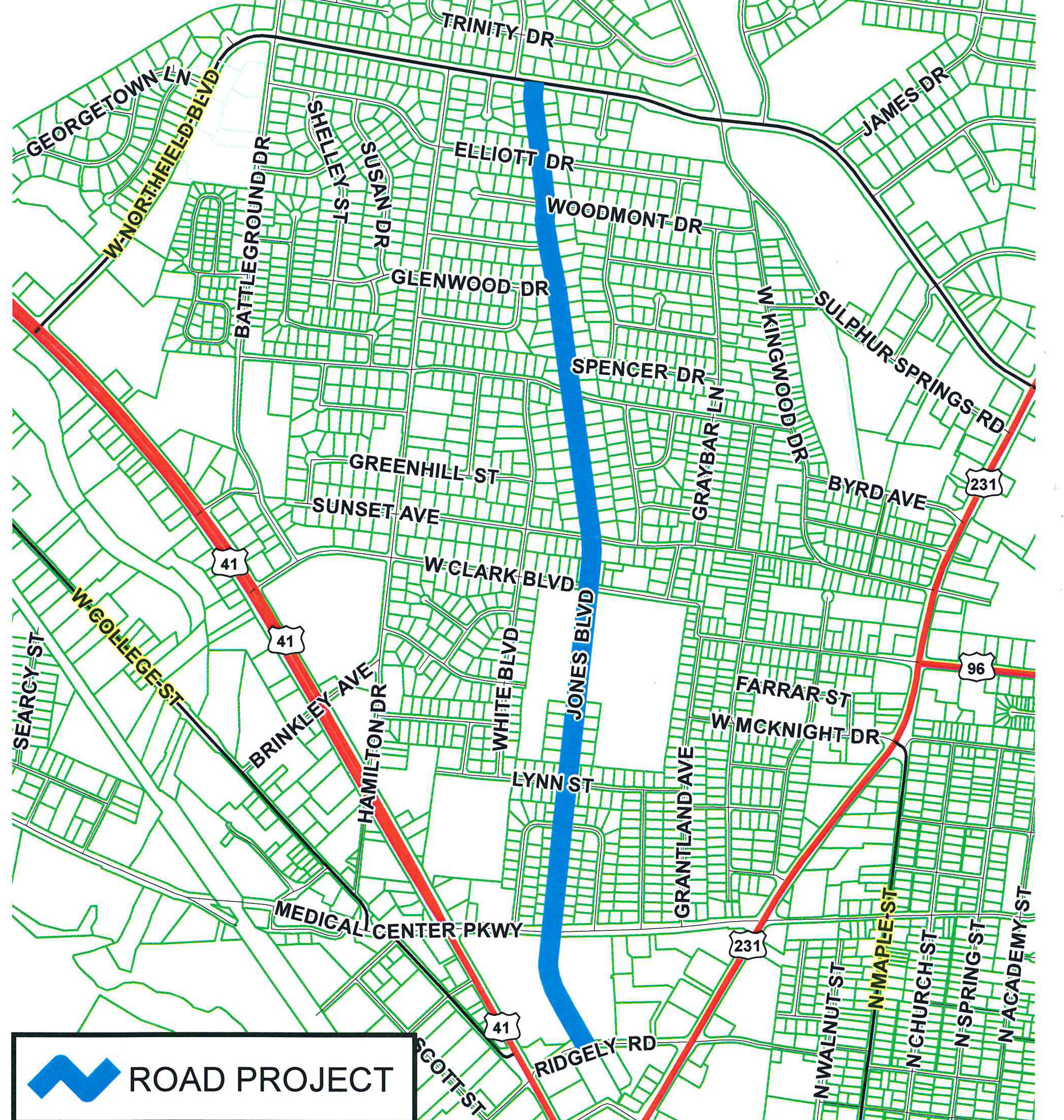 Design Public Meeting scheduled on Jones Blvd. Improvement Project Nov. 1