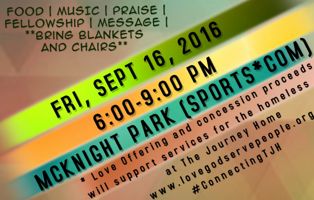 Special Event 9/16 to Benefit the Homeless and Needy in Murfreesboro