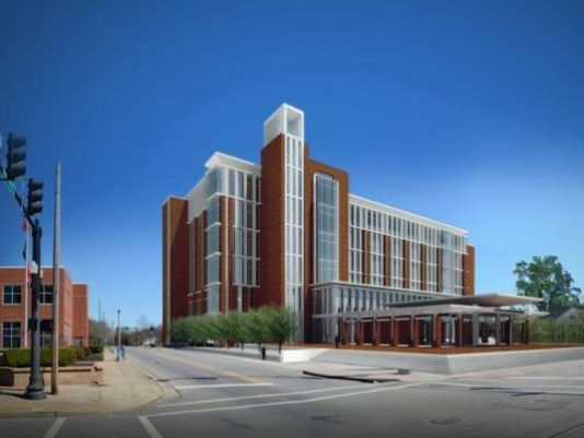Groundbreaking for the New Rutherford County Judicial Building will be in March