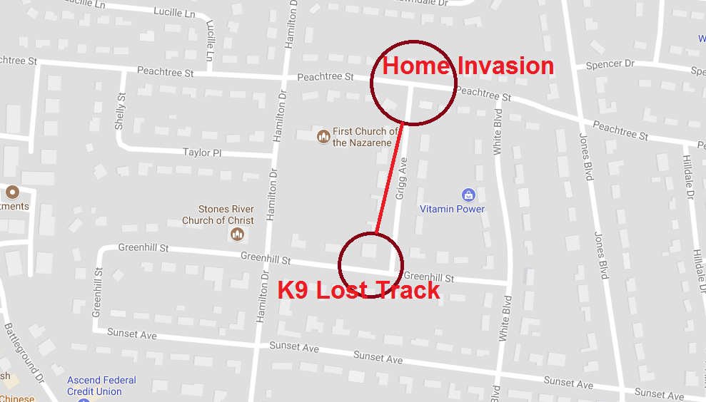 Home Invasion on Peachtree Street in Murfreesboro
