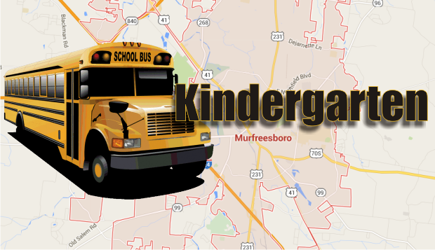Kindergarten Registration is Nearing in Murfreesboro