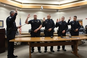 La Vergne Police Department Swears In New Officers