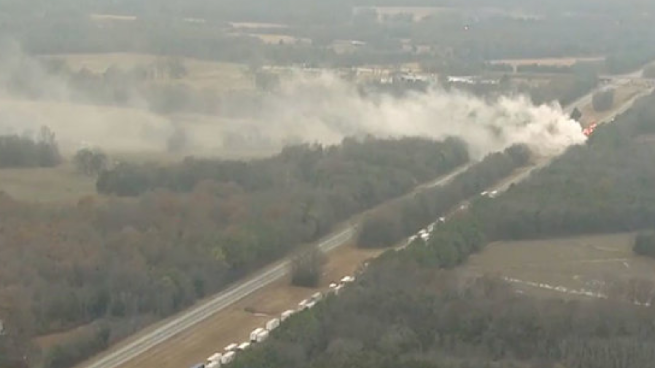Evacuation Order Lifted; I-24 Accident Wednesday