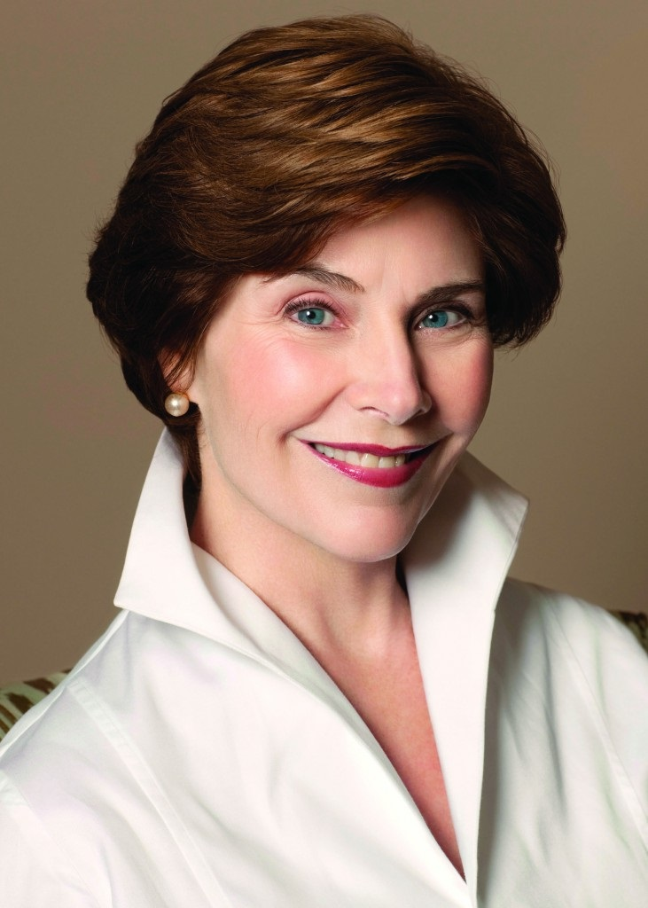 APRIL 16: First Lady Laura Bush at MTCS