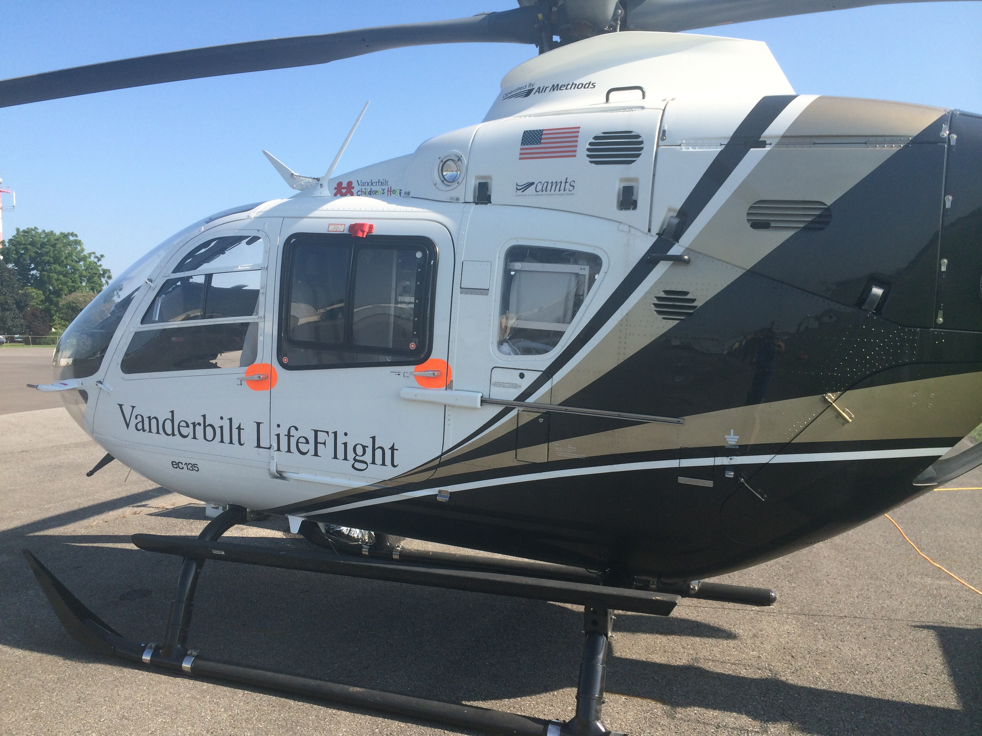 LifeFlight 5 now operating from the Murfreesboro Municipal Airport