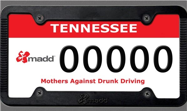 Mothers Against Drunk Driving License Plates may be going away in Tennessee