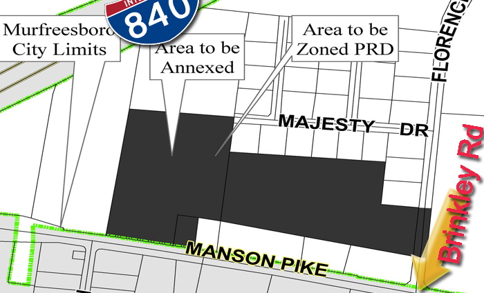New annexation of Murfreesboro into the county proposed for Blackman