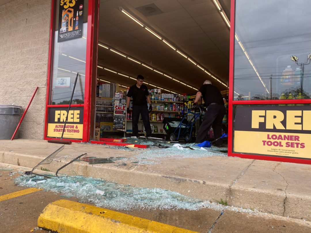 Recently, a car crashed into a local business earlier this month in Murfreesboro.