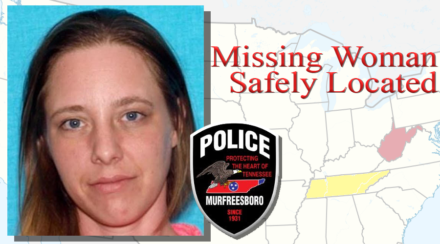 MURFREESBORO POLICE: Missing woman safely located