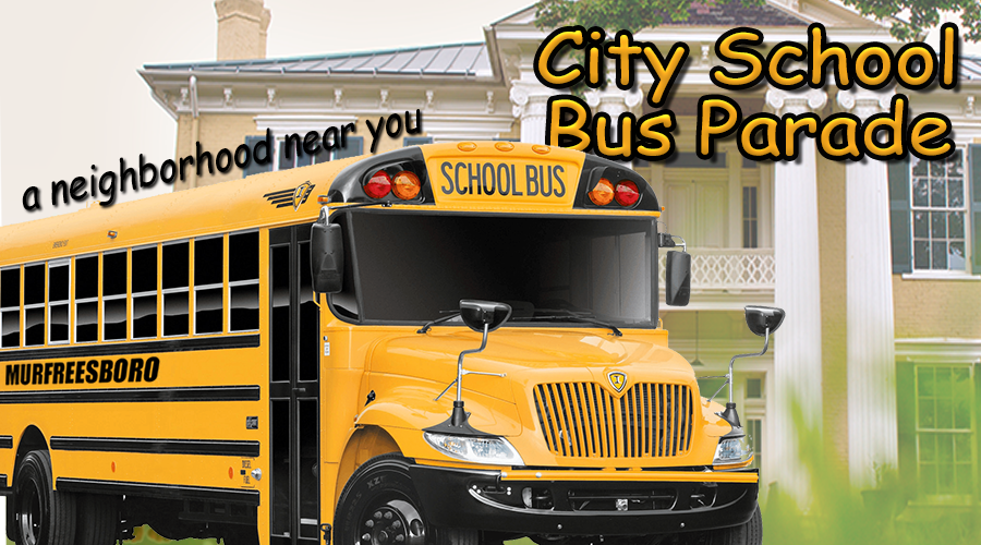 Murfreesboro City Schools to host School Bus Parades this week
