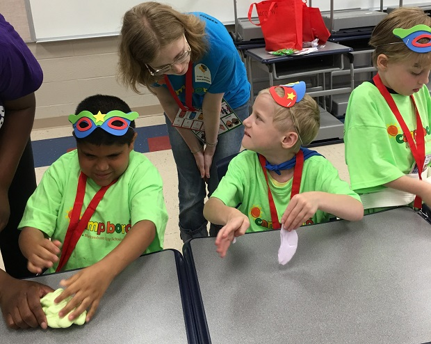 A Positive Special Needs Camp at Scales Elementary School