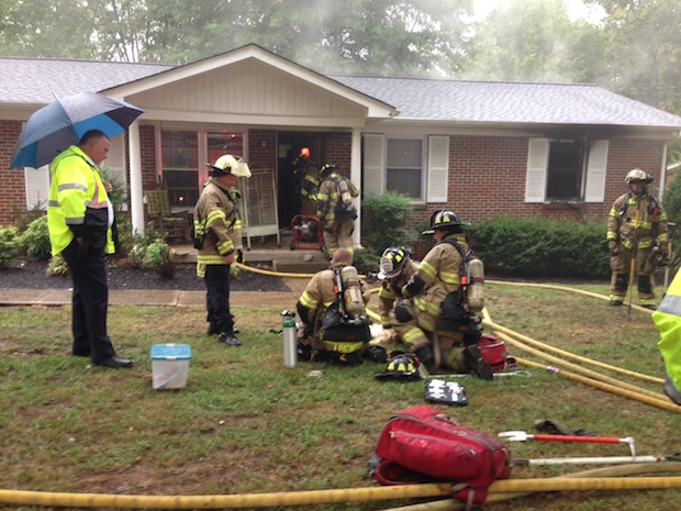MFRD Responds to House Fire at 1835 Susan Drive; Seven Pets Die