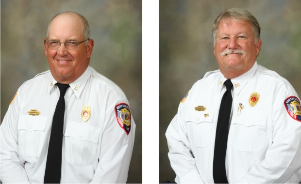 Two Murfreesboro Fire & Rescue Department Captains Retire in July