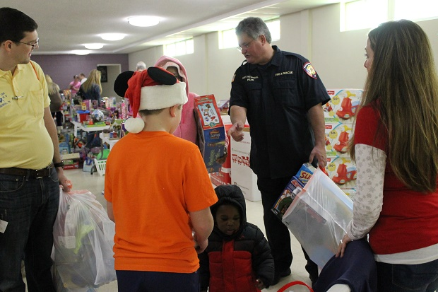 Murfreesboro Fire & Rescue Department and Toys for Tots