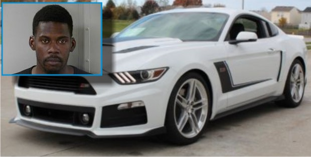 Man Steals $60,000+ Ford Mustang Roush in Murfreesboro and Later Bails
