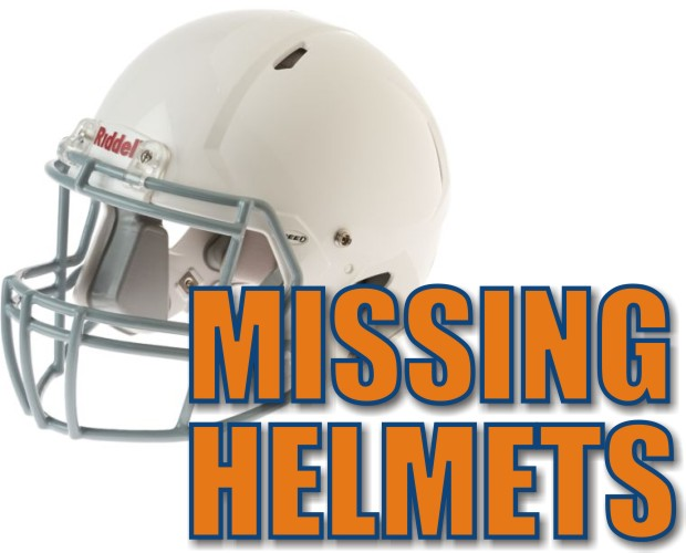 Stolen Blackman Jr. Pro Football Helmets