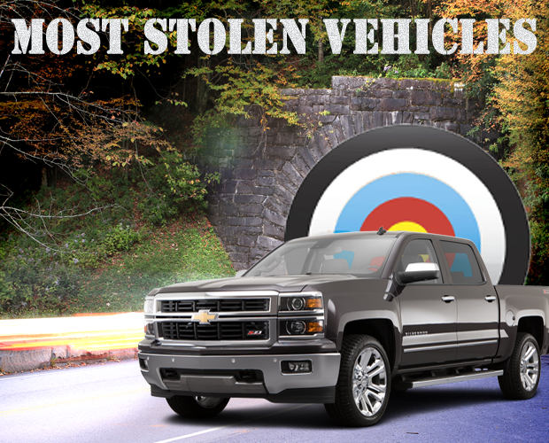 Is YOUR Vehicle a Target for Theft? Here is the list of top 10 vehicles stolen...