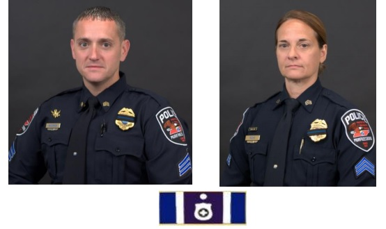 MPD Announces the graduation of two supervisors from Northwestern School of Police Staff and Command