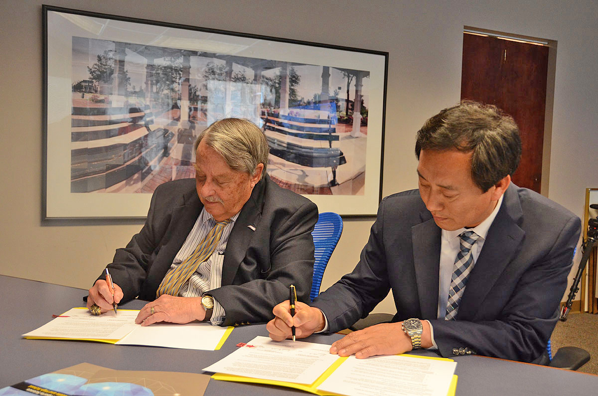 MTSU Enters into an agreement with a South Korean secondary school