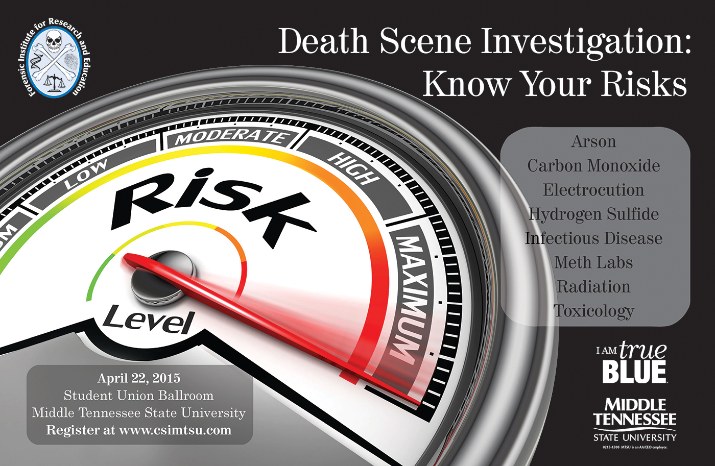 Death Scene Investigation Workshop in Murfreesboro