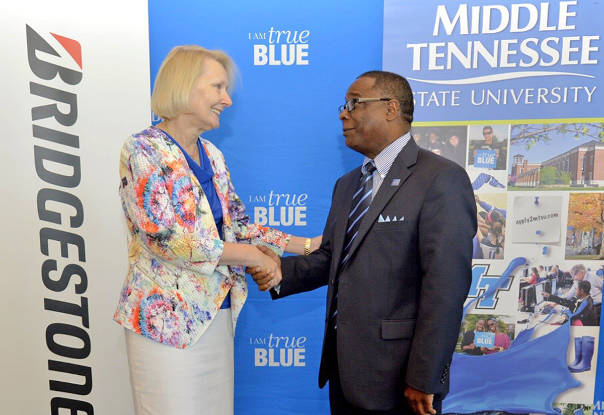 MTSU, Bridgestone collaborate to develop workforce leadership program