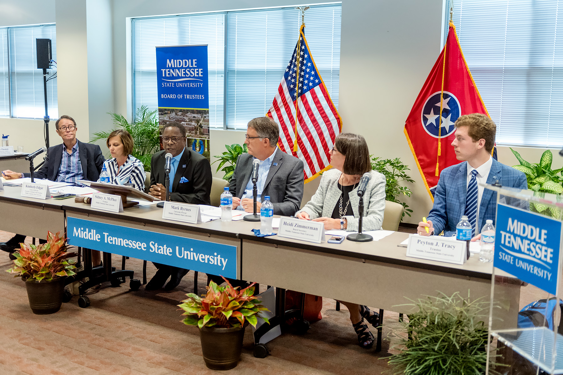 Agreement to Transfer Law School to Murfreesboro with MTSU and Valparaiso University
