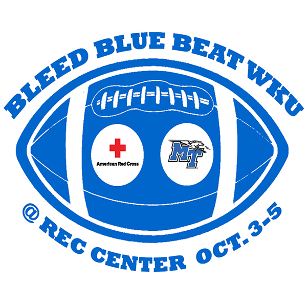 New app, website will help donors save lives faster at MTSU's Oct. 3-5 'Bleed Blue' blood drive