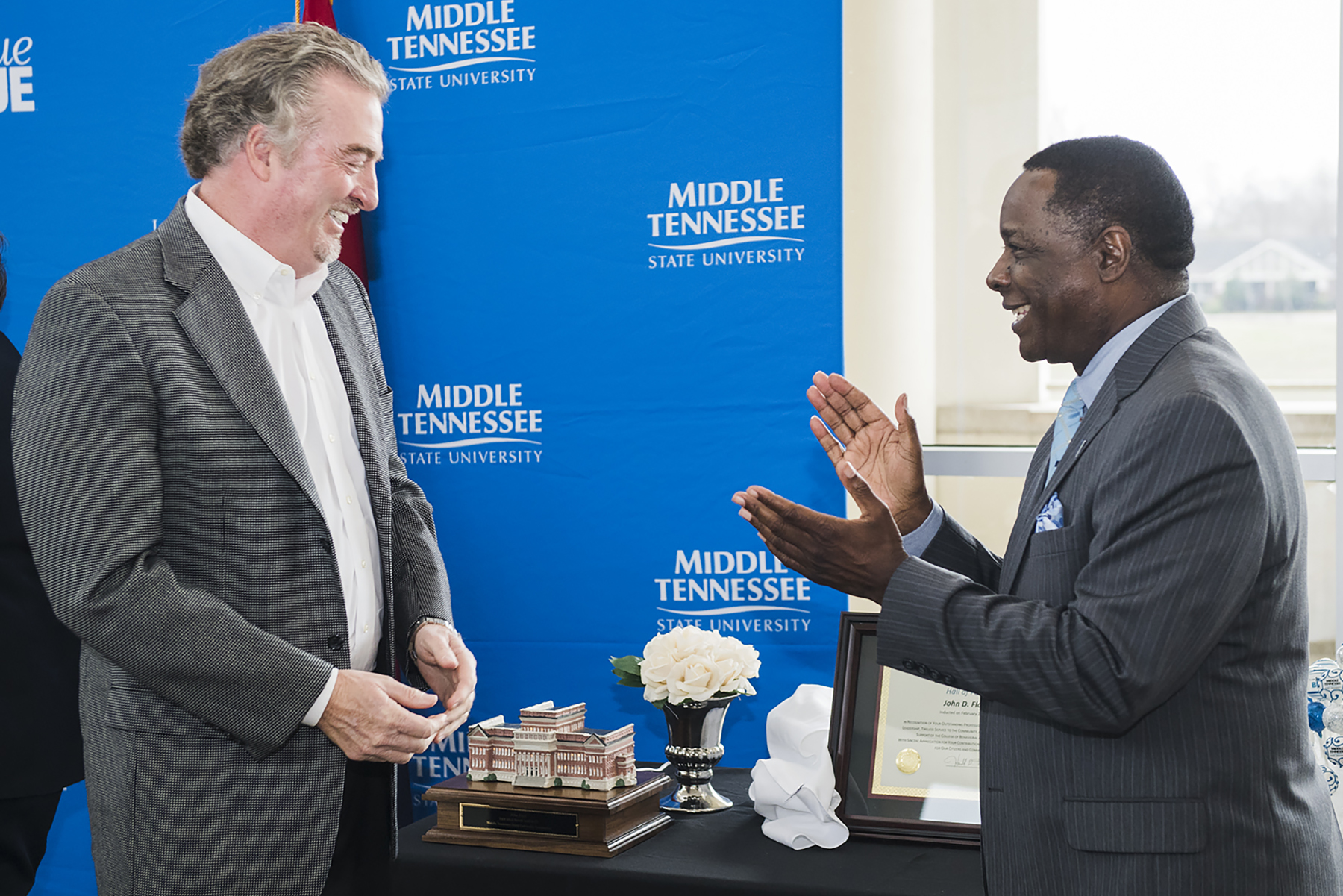 Homebuilder Floyd pledges $1M to help launch MTSU Center for Student Coaching and Success