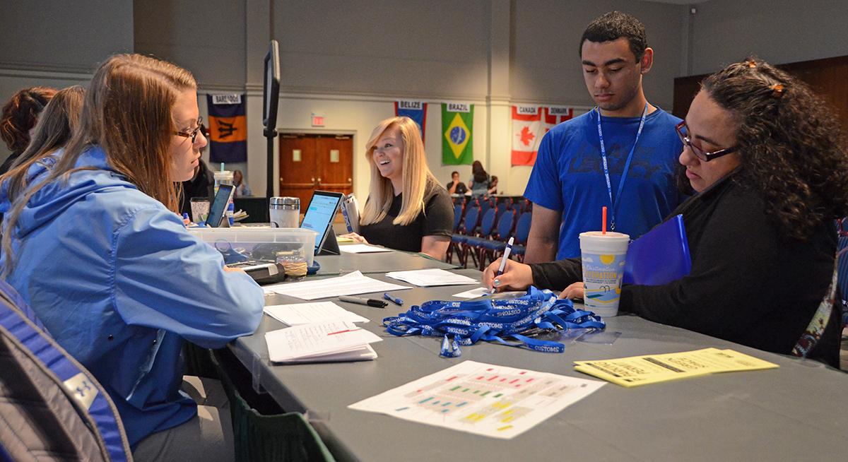 Scholarship recipients kick off MTSU CUSTOMS orientations
