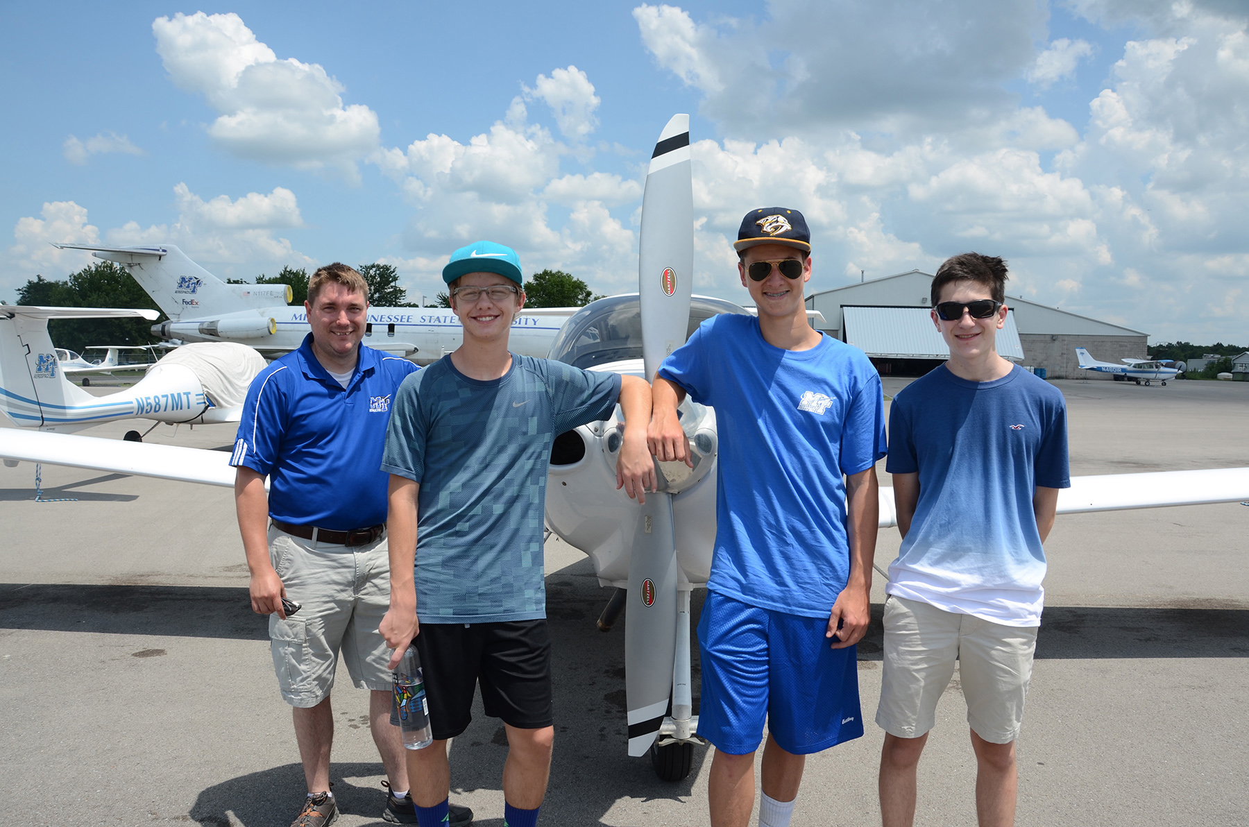 MTSU aviation camp gives high schoolers a chance to soar
