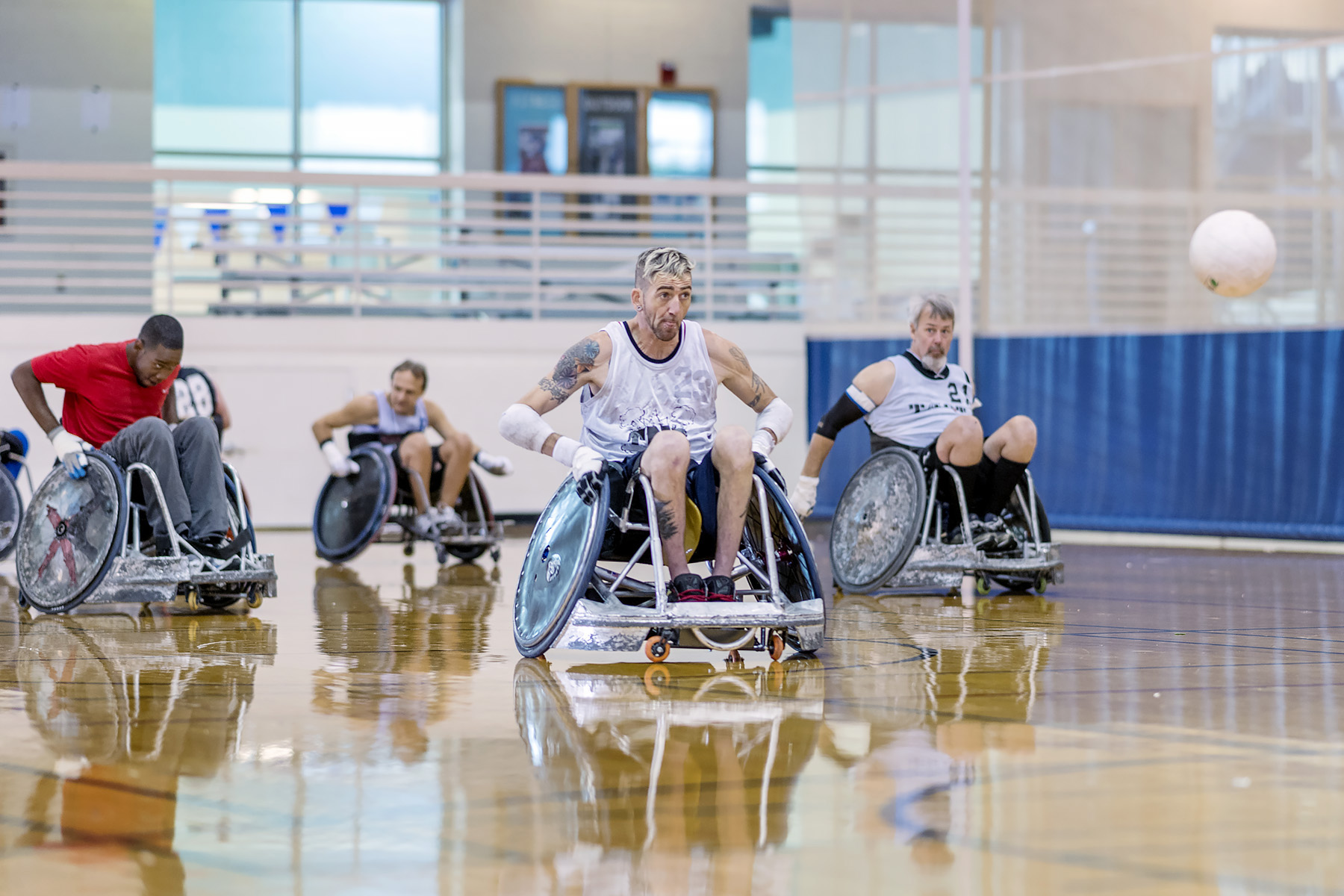 MTSU-based wheelchair rugby program rolling toward bright future