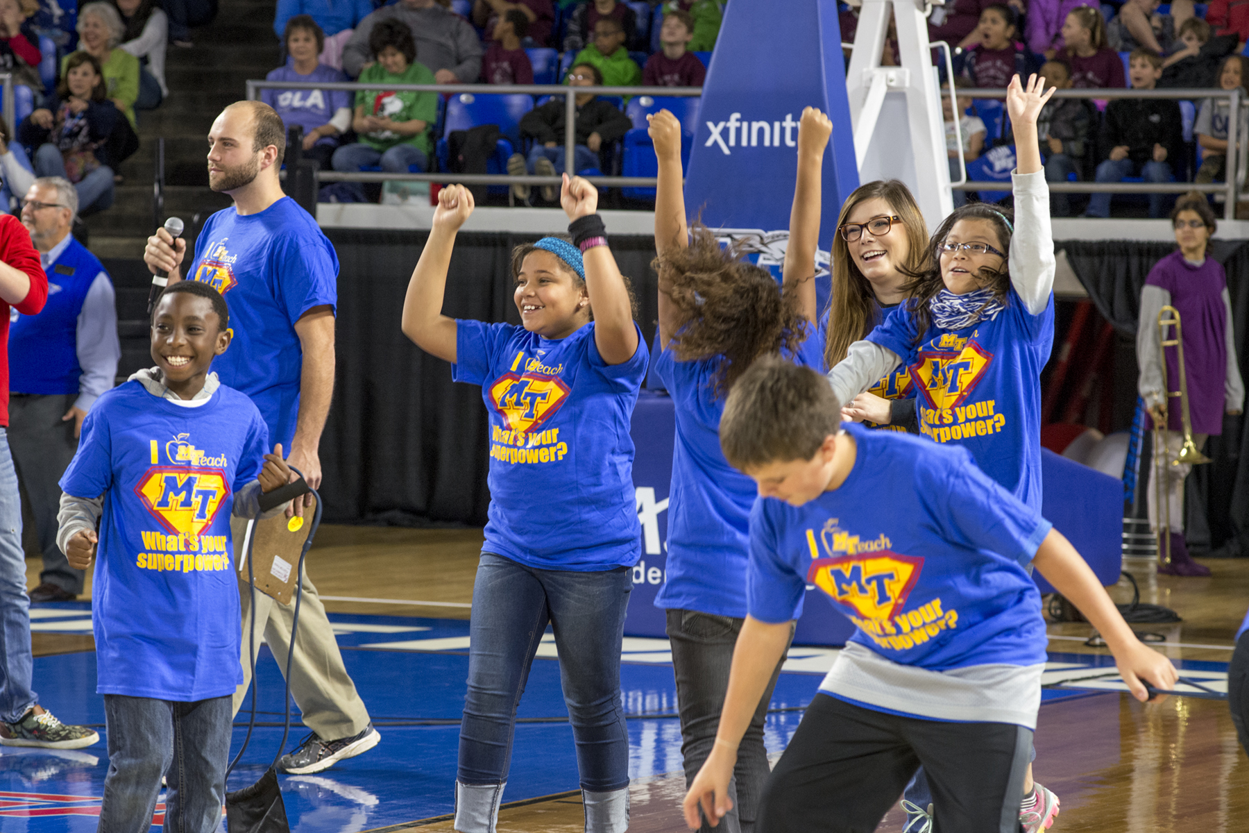 7,300 Elementary School Students to attend MTSU Basketball Game