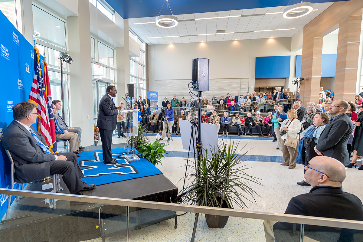 MTSU reopens renovated Davis, Wiser-Patten buildings, unveils Science Corridor of Innovation