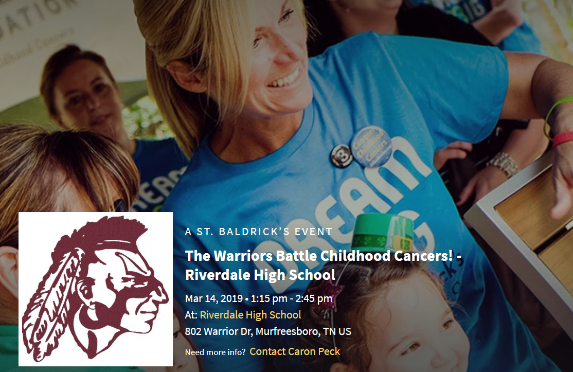 Brave the Shave at Riverdale High School - Fighting Childhood Cancer