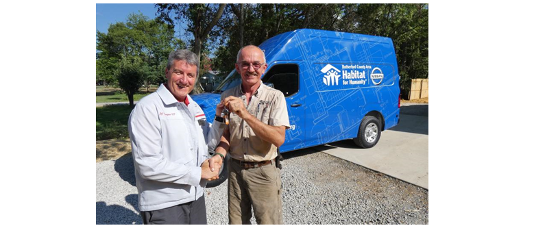 Habitat for Humanity receives Nissan grants to help build affordable housing