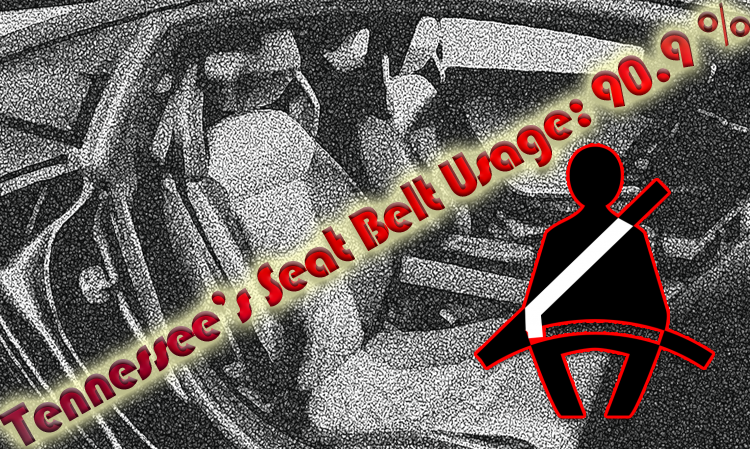 Tennessee's Seat Belt Usage Rate Reaches 90.9 Percent in 2018