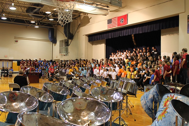 Music teachers and students from all 12 Murfreesboro City Schools will be participating in the 4th Annual Murfreesboro City Schools Festival Choir con