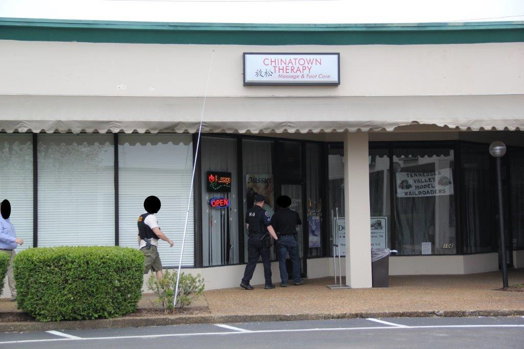Massage parlor's busted in Murfreesboro