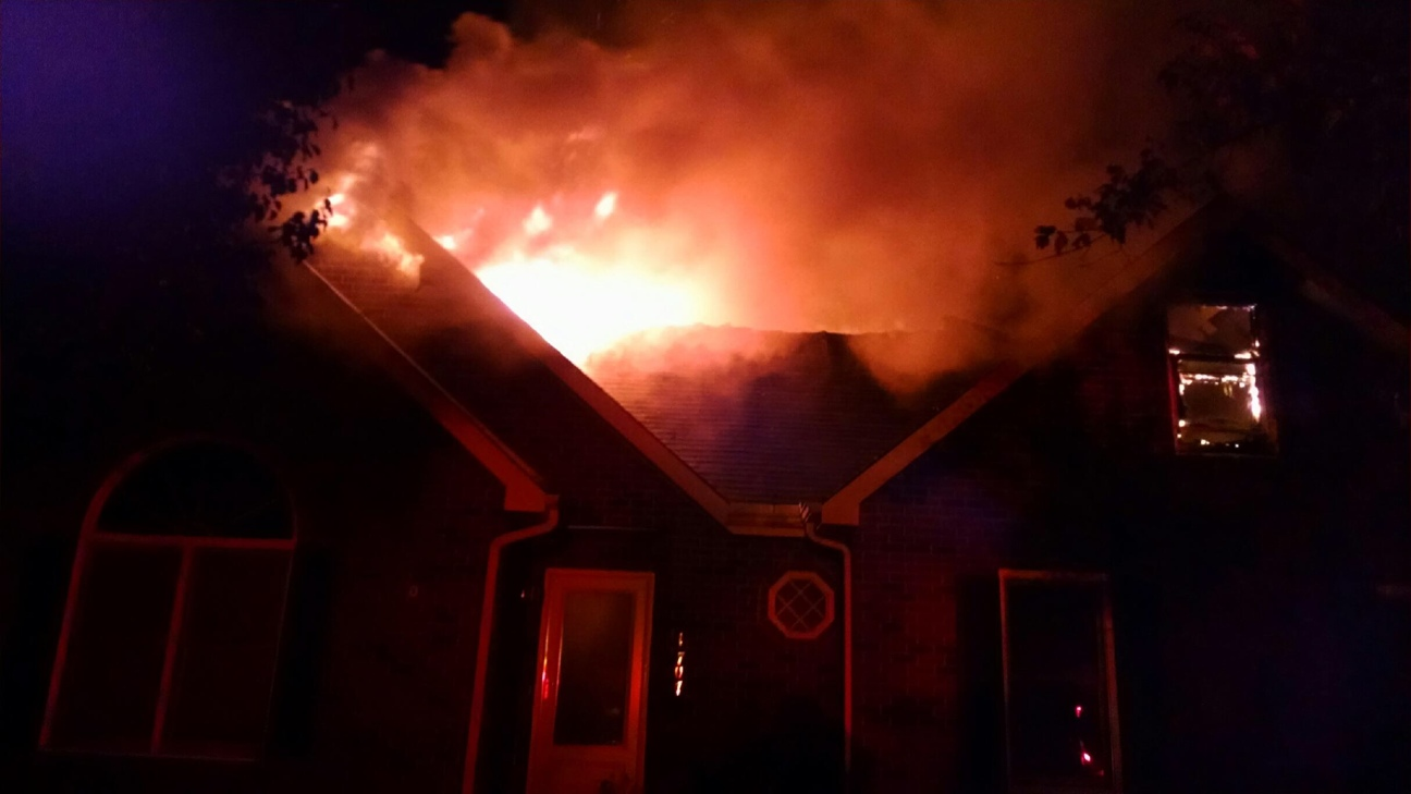 Wednesday morning house fire in Murfreesboro