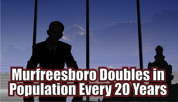 Murfreesboro Population nearly Doubles Every 20 Years