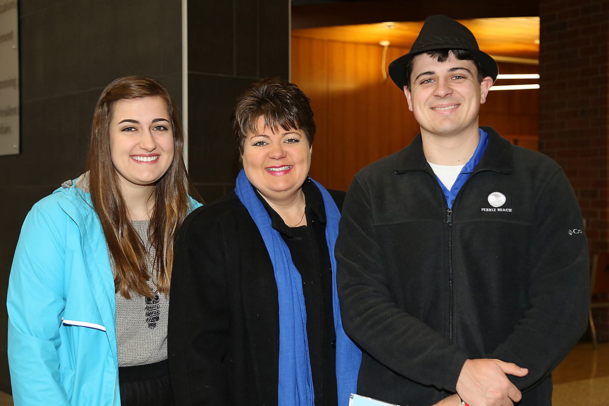 All in the family at Honors open house: McDonald sister joins brothers as MTSU Buchanan Scholars