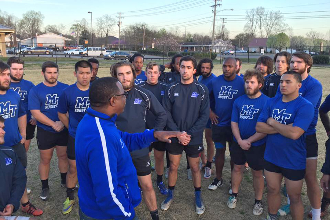 MTSU rugby team playing in Elite Eight this weekend in Ohio