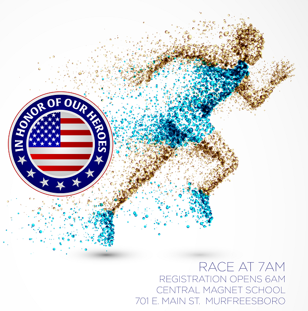 Participate in the Memorial Day 5k in Downtown Murfreesboro