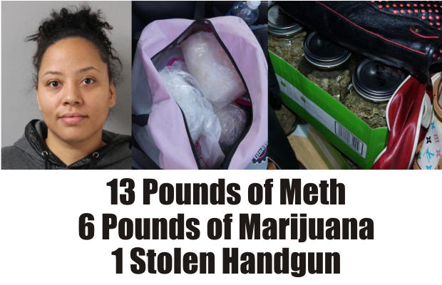 Murfreesboro woman busted with 13 pounds of Meth