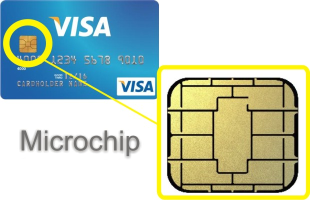 Credit cards embedded with a microchip are better for you, according to some