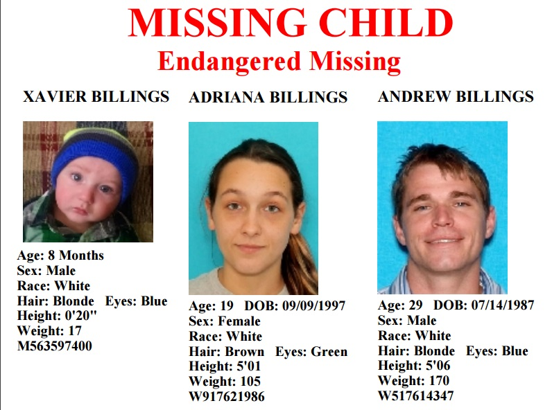 Endangered Missing Child in Middle Tennessee Area