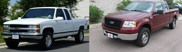 In Tennessee the Chevrolet Silverado and the Ford F-150 are the MOST Stolen Vehicles