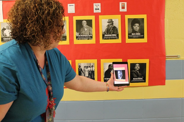 Hobgood Students Use Tech App to Unlock Virtual Classroom